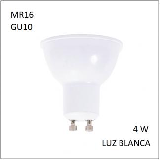MiniSpot GU10 4W Blanca