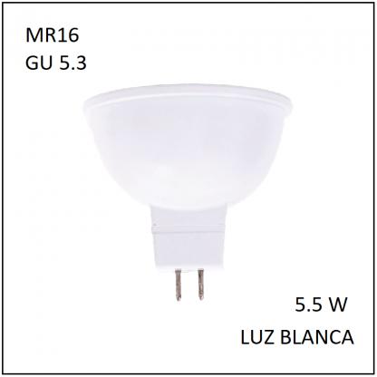 MiniSpot GU5.3 5.5W Blanca