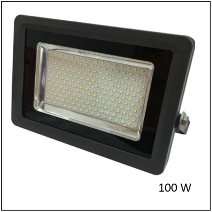 Reflector LED 100W Uso Exterior