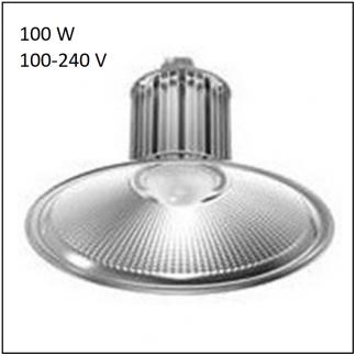 Campana LED Industrial de 100W