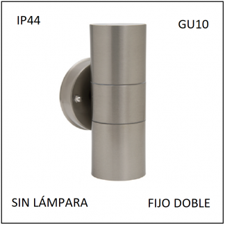 Reflector FIJO DOBLE IP44
