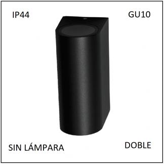 Luminario Pared IP64 Arbotante Doble