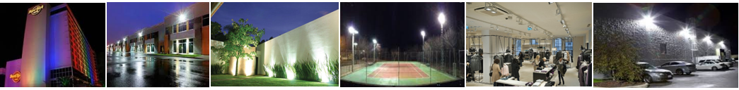 Reflectores LED para Exterior IP65