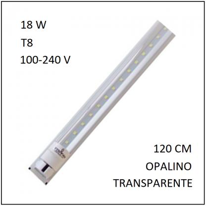 Canaleta 1 Tubo LED 18 W