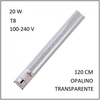 Canaleta 1 Tubo LED 20 W