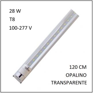Canaleta 1 Tubo LED 28 W