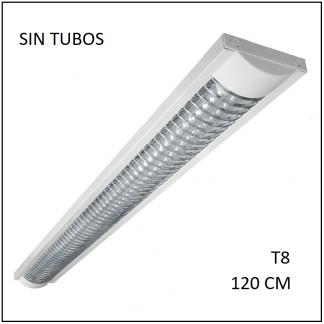 Luminario LED Grid para 2 tubos T8