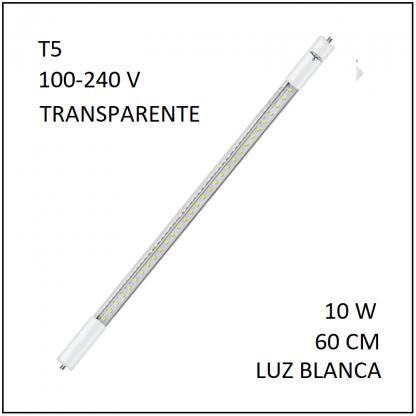 Tubo LED T5 10W 60cm Luz Blanca
